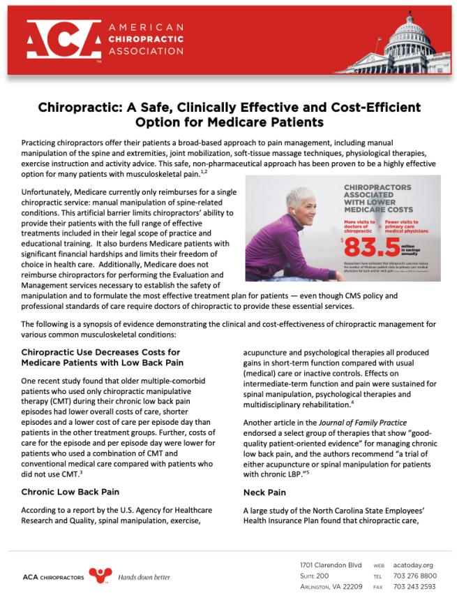 ACA Infographic Winnipeg Chiropractor